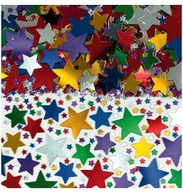 Multi Metallic Star Confetti