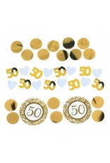 50th Anniversary Gold Confetti Mixes