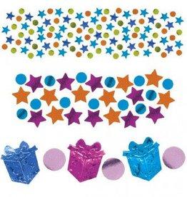 Happy Birthday Girl Metallic Confetti Mix