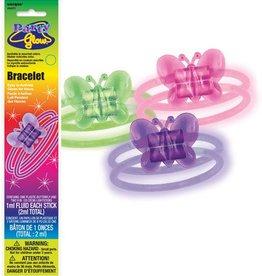 """Glow Bracelets 8"""" Assorted (10)"""