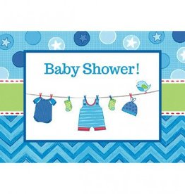 Shower with Love Boy Postcard Invitations