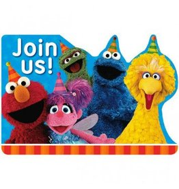 Sesame Street® Postcard Invitations