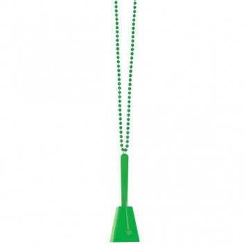 Clacker Necklace Green