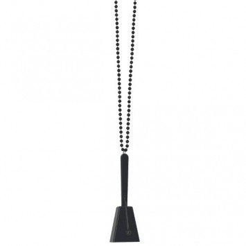 Clacker Necklace Black