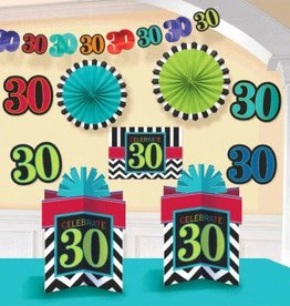 30th Celebration Decorating Kit