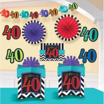 40th Celebration Decorating Kit