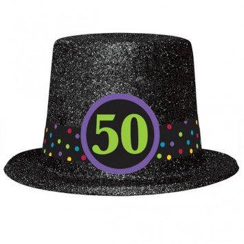 50th Birthday Top Hat