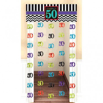 50th Doorway Curtain
