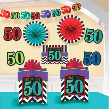 50th Room Deco Kit