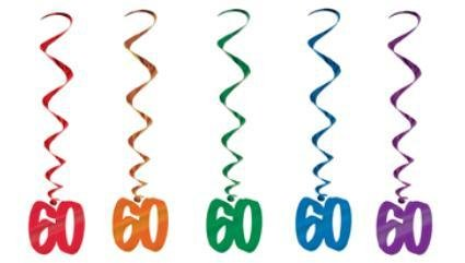 60 Number Whirls
