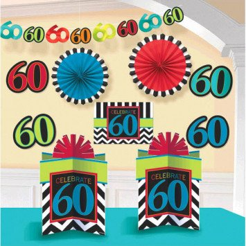 60th Room Deco Kit