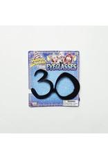 """Birthday Glasses """"30"""