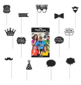 Chalkboard Birthday Photo Props