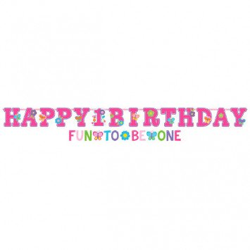 Banner Letter Jumbo Sweet Birthday Girl
