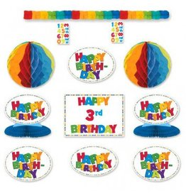 Happy Birthday Boy Add-An-Age Decorating Kit