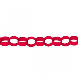 Apple Red Chain Link Garlands
