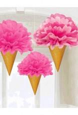Fluffy Decorations Ice Cream Cone (3)