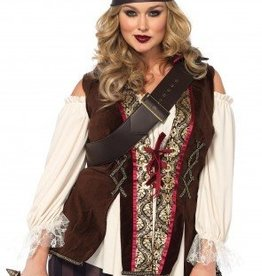 Women's Costume Captain Blackheart 1X-2X