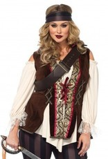 Women's Costume Captain Blackheart 3X-4X