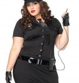 Women's Costume Dirty Cop Plus Size 1X/2X