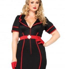 Women's Costume Naughty Night Nurse 1X-2X