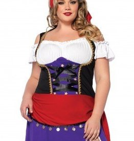 Women's Costume Traveling Gypsy 1X/2X