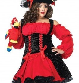 Women's Costume Vixen Pirate Wench Plus Size 3X/4X