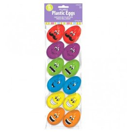 Easter Funny Face Eggs Small