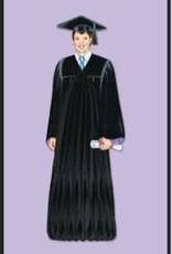"""13"""" Boy Graduate Centerpiece"""