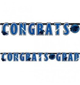 Banner Letter Giant Graduation Bright Royal Blue