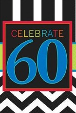 60th Celebration Lunch Napkin 16pc