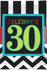 "30th Celebration 7"" Plate 8pc"