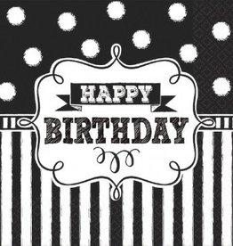 Chalkboard Birthday Luncheon Napkins (16)