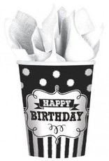 Chalkboard Birthday 9oz Cups (8)