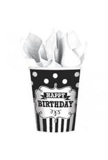 Chalkboard Birthday 9oz Cups (8)