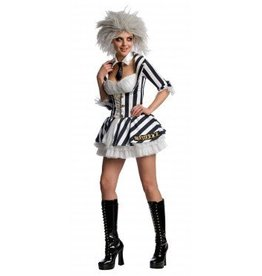 Women's Costume Beetlejuice Extra Small