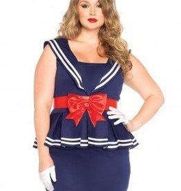 Women's Costume Aye Aye Amy Large