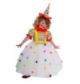 Child Costume Candy Clown Small (4-6)