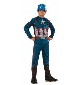 Child Costume Captain America