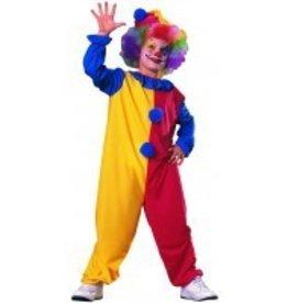 Child Costume Clown Medium (8-10)