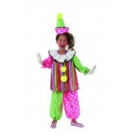 Child Costume Clown Giggles Medium