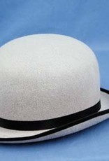 Gray Felt Derby Hat