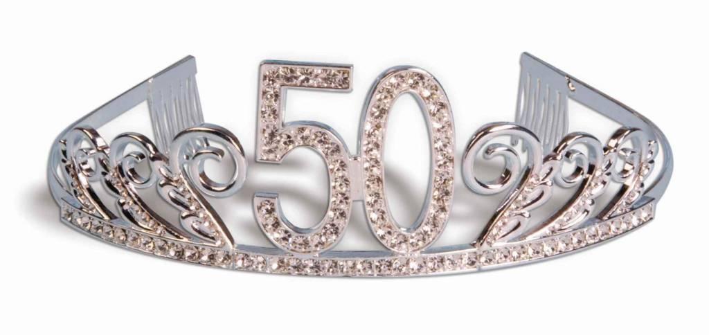 Birthday Tiara 50