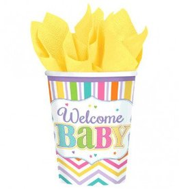 Baby Brights 9oz Cups 18pc