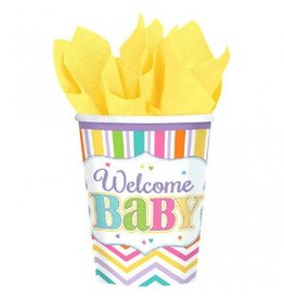 Baby Brights 9oz Cups (18)