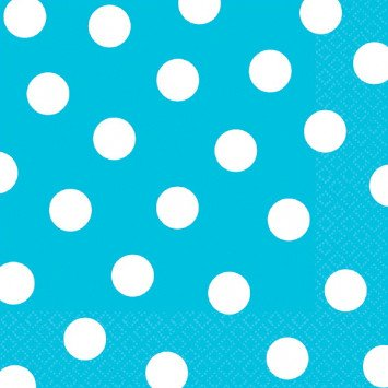 Caribbean Dots Luncheon Napkins 16pcs