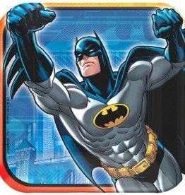 "Batman Square 7"" Plate (8)"