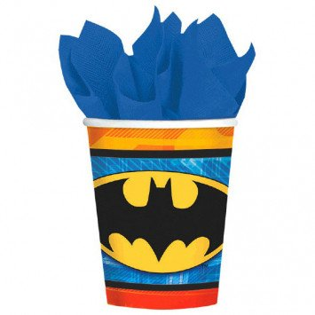 Batman Paper Cup 8ct