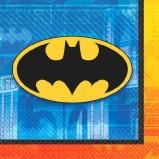 Batman Beverage Napkin 16pc