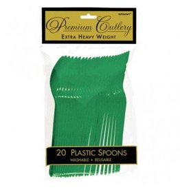 Festive Green Premium Spoons (20)